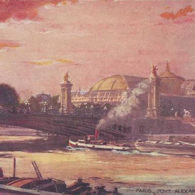 Paris - Pont Alexandre III - OILETTE - Série 702 N° 14