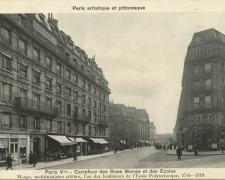PARIS V° - Carrefour des Rues Monge et des Ecoles