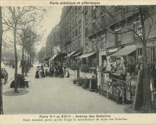 PARIS V°et XIII° - Avenue des Gobelins