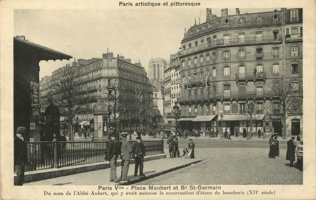 PARIS V° - Place Maubert et Bd St-Germain