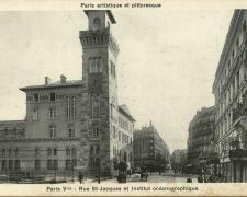 PARIS V° - Rue St-Jacques et Institut océanographique