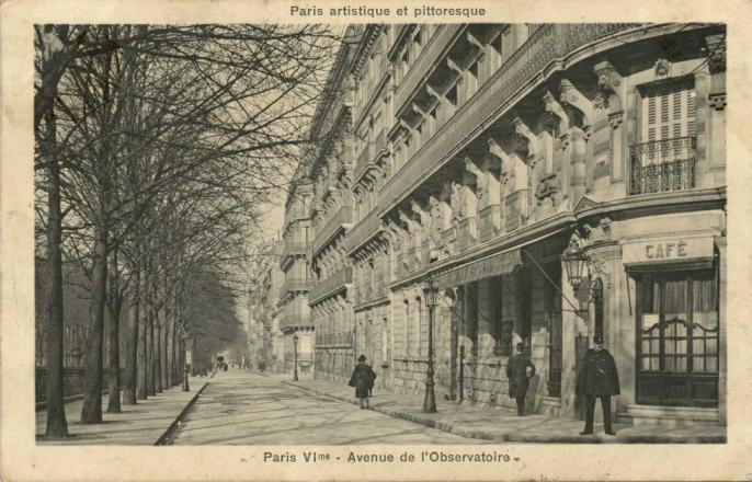 PARIS VI° - Avenue de l'Observatoire