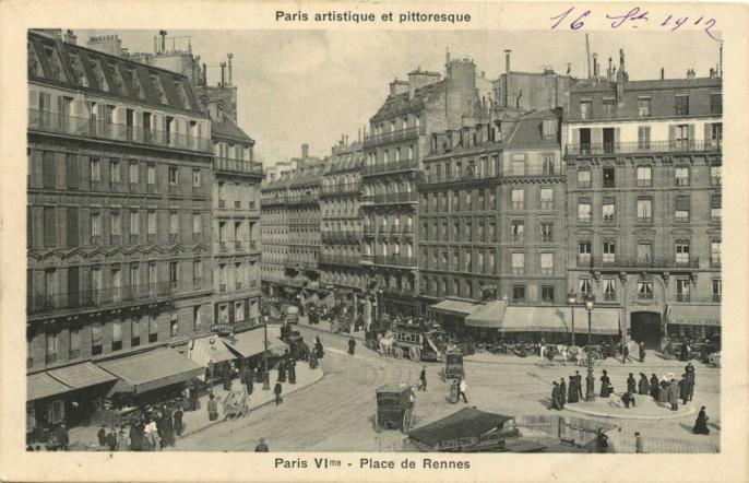 PARIS VI° - Place de Rennes