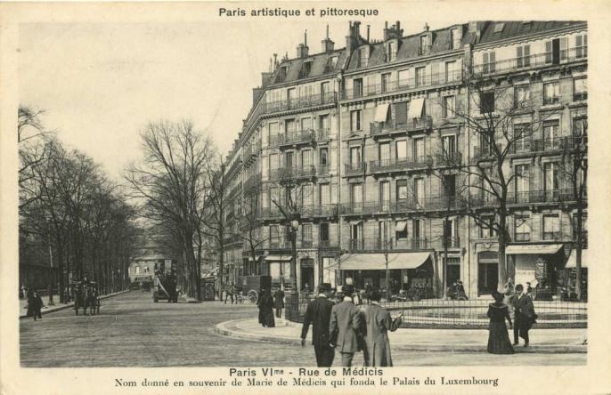 PARIS VI° - Rue de Médicis