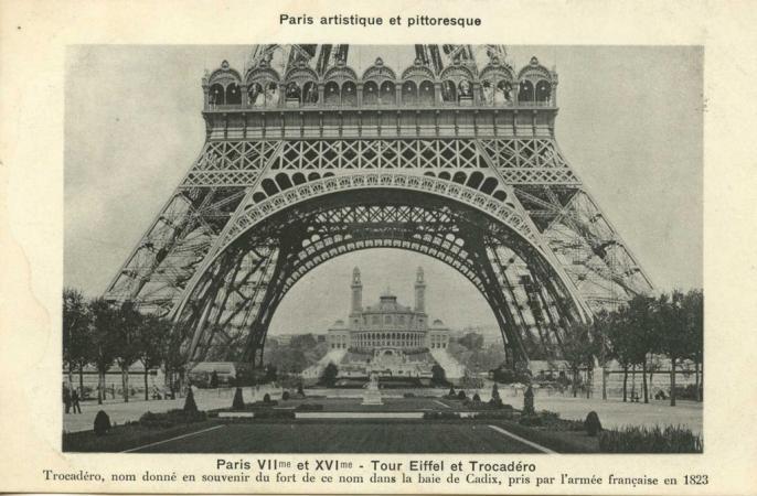 PARIS VII° et XVI° - Tour Eiffel et Trocadéro