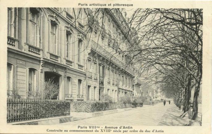 PARIS VIII° - Avenue d'Antin