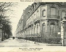 PARIS VIII° - Avenue Montaigne
