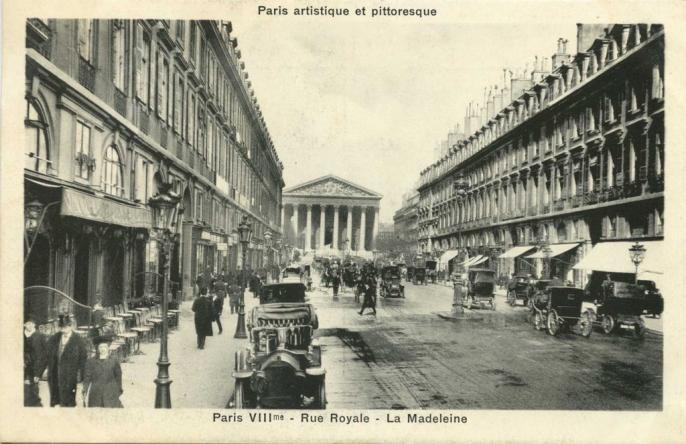 PARIS VIII° - Rue Royale - La Madeleine