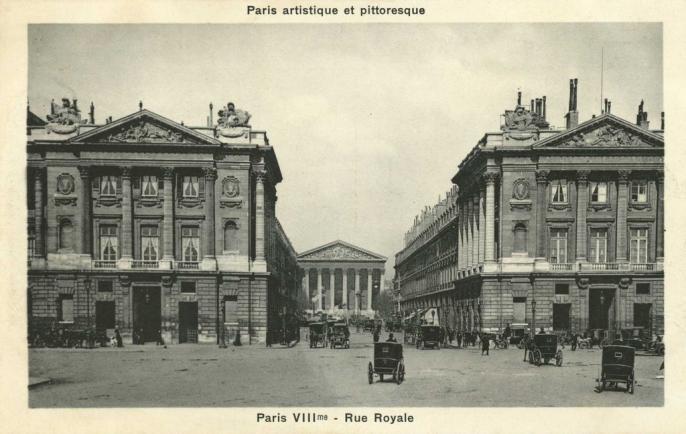 PARIS VIII° - Rue Royale
