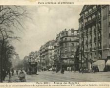 PARIS XIII° - Avenue des Gobelins