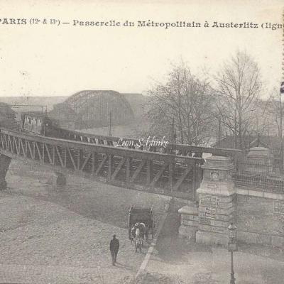 JH 584 - Passerelle du Metropolitain à Austerlitz