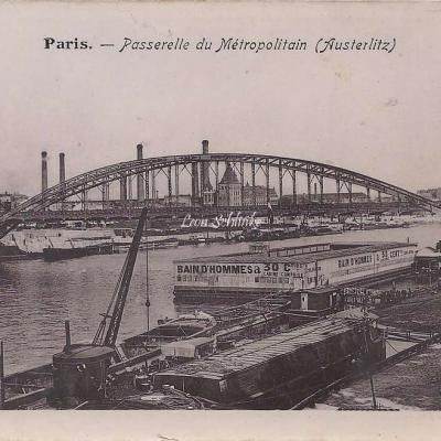 Inconnu - Passerelle du Metropolitain (Austerlitz)