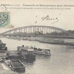 JH 164 - Passerelle du Metropolitain quai d'Austerlitz