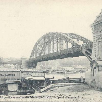 Marmuse 246 - Passerelle du Metropolitain quai d'Austerlitz