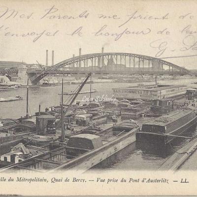 LL 1004 - Passerelle du Metropolitain Quai de Bercy