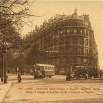 PATRAS 195 - PARIS - Boulevards St-Germain et Raspail - Statue de Chappe