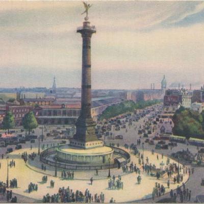 Patras 45 - LES JOLIS COINS DE PARIS - Place de la Bastille