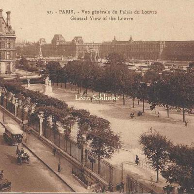 Patras 92 - Vue générale du Palais du Louvre