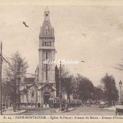 Patras A.24 - Eglise St-Pierre - Avenue du Maine et d'Orléans