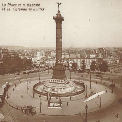 PC 102 - La Place de la Bastille et la Colonne de Juillet