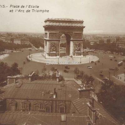 PC 137 - Place de l'Etoile et Arc de Triomphe