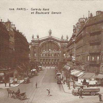 PC 158 - Gare du Nord et Boulevard Denain