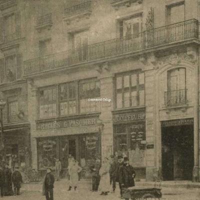 Péjoux Editeur - photo représentant la Station Parmentier et alentours immédiats