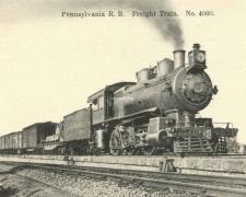Pennsylvania R.R. Freight Train N° 4060