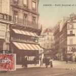 A. Poulain - PARIS - Petit Journal et rue Cadet