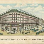 Pharmacie A. BAILLY - 15, Rue de Rome, PARIS (8°)