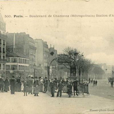 Phono-photo Gondry 500 - Boulevard de Charonne - Station d'Avron