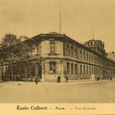 Phot. Pierre Petit - Ecole Colbert - Paris - Vue générale