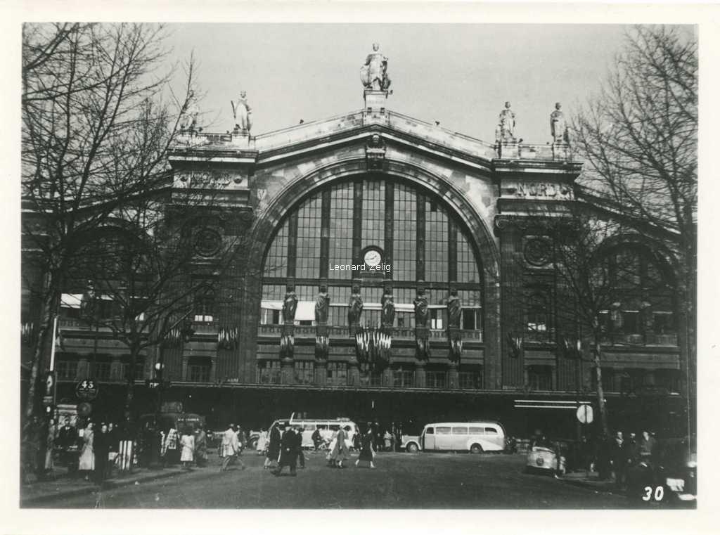 Photo - Gare du Nord du Boulevard Denain
