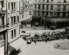 Photo - Paris - Barricade Rue de Rennes 22·08·1944