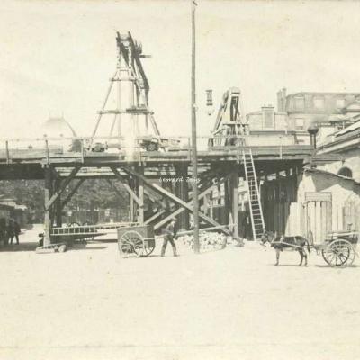 Photo - Paris - Cour d'arrivée Gare d'Austerlitz 29·08·1904