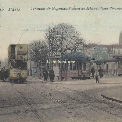 Photo-phono 355 - Terminus du Nogentais Station du Métro Vincennes