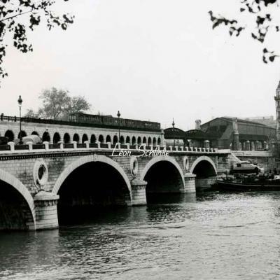 Photo - Pont et Gare de Bercy
