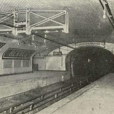 Photo - Quais Sation Rennes en 1910