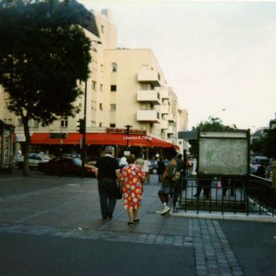 Photo - Station Belleville, années 1980