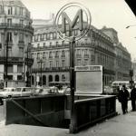 Photo - Station Chaussée d'Antin le 29 Mars 1969 - Les nouveaux entourages...
