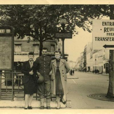 Photo - Station Mongallet WW2