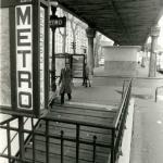 Photo - Station Stalingrad sous le viaduc du Métro