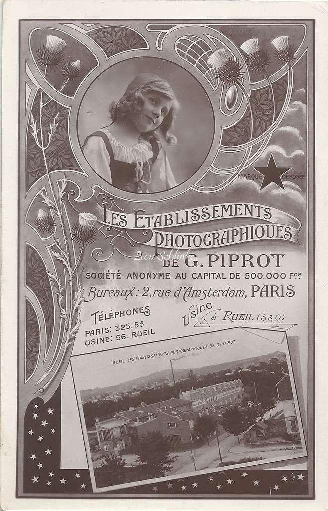 Présentation des Etablissements G. Piprot