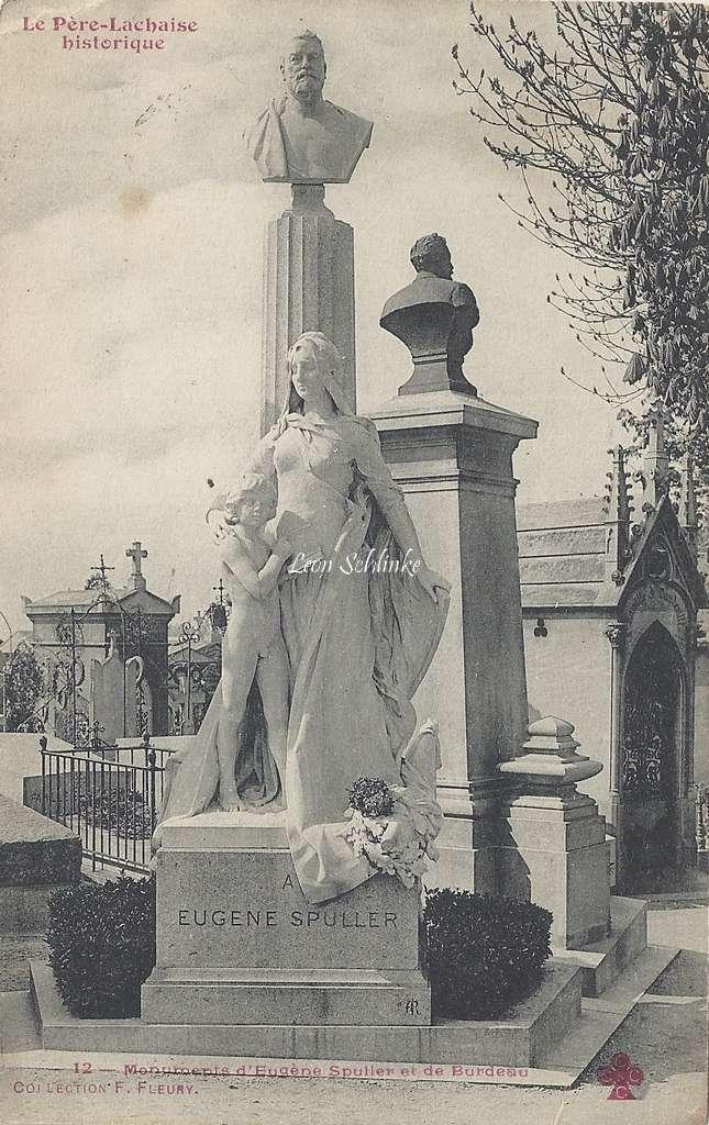 12 - Monument d'Eugène Spuller et de Burdeau