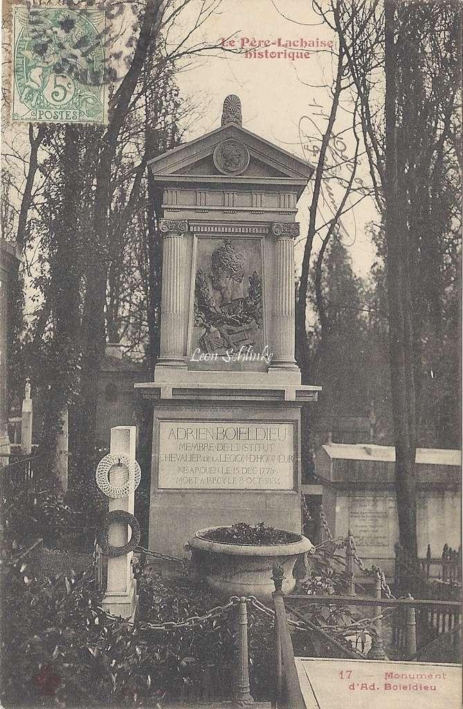 17 - Monument d'Ad. Boieldieu