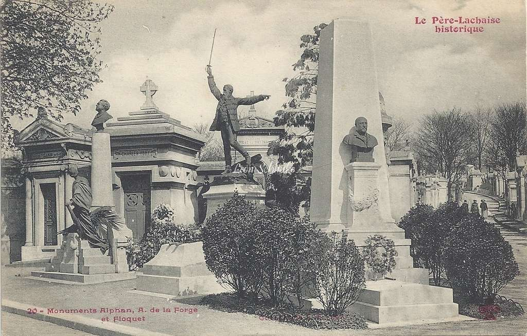 20 - Monuments Alphan, A. de la Forge et Floquet