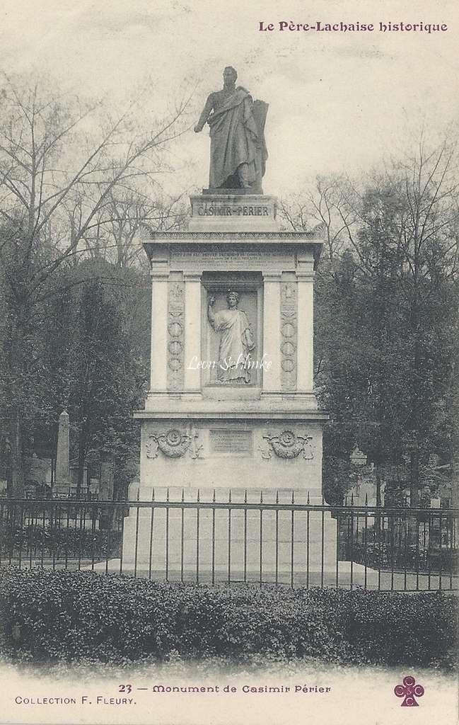 23 - Monument de Casimir Périer