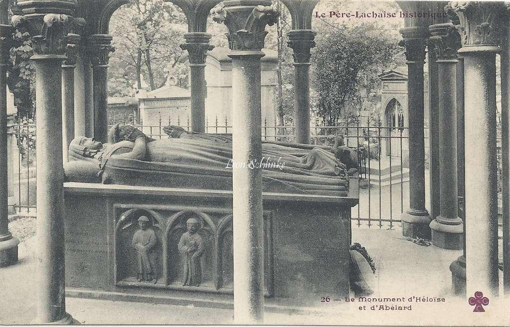 26 - Le Monument d'Héloïse et d'Abélard