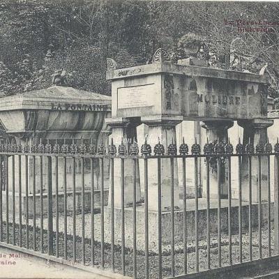 28 - Monument de Molière et La Fontaine