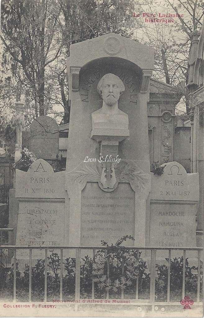 3 - Monument d'Alfred de Musset